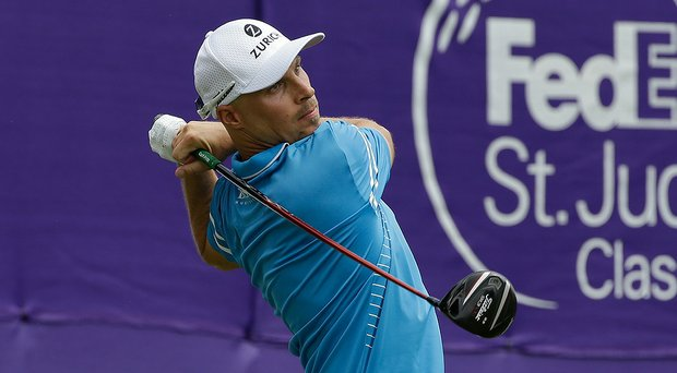 Ben Crane during the final round of the 2014 FedEx St. Jude Classic at TPC Southwind in Memphis, Tenn.