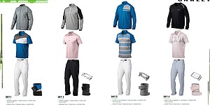 Bubba Watson's scripted apparel for 2014 U.S. Open