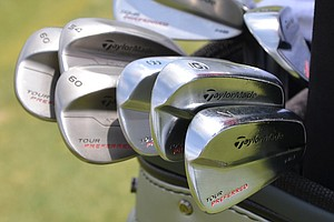 Dustin Johnson, who nearly won the 2010 U.S. Open at Pebble Beach, hopes these TaylorMade Tour Preferred MB irons and wedges can help him win the title.