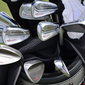 Darren Clarke, winner of the 2011 Open Championship, has these TaylorMade Tour Preferred MC irons and wedges in his bag.