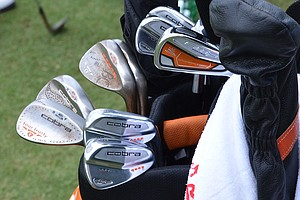 Rickie Fowler hopes these Cobra AMP Cell Pro irons and Tour Trusty wedges can help him win his first major.