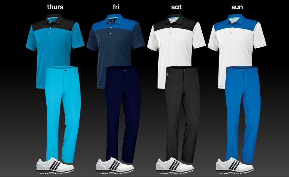 adidas golf outfits