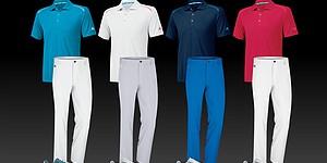 Garcia, D. Johnson's scripted apparel for 2014 U.S. Open