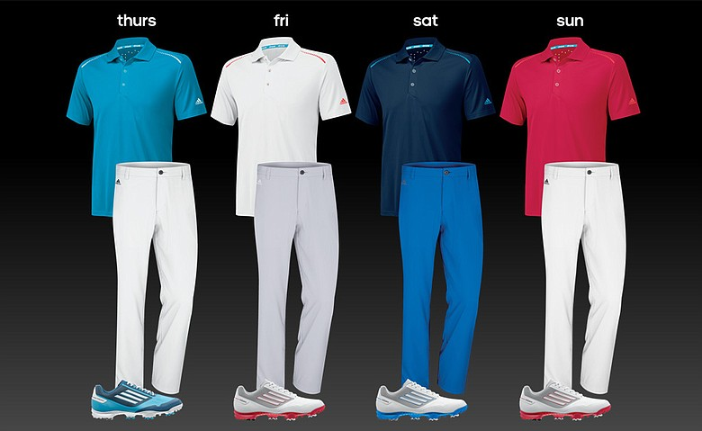 Sergio Garcia's apparel for Pinehurst No. 2 at this week's U.S. Open.