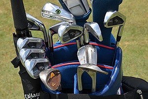 Henrik Stenson uses these Callaway Legacy Black irons for the 2014 U.S. Open at Pinehurst.