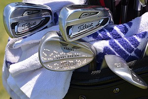 Jason Dufner will be trying to win his second major championship this week using these Titleist 714 AP2 irons and Vokey Design wedges at the 2014 U.S. Open at Pinehurst.