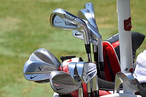 Seung-Yul Noh has three different irons in his bag for the 2014 U.S. Open at Pinehurst, a Nike VR_S Forged 2-iron, Forged Pro Combo 3- and 4-irons, and VR Pro Blades.