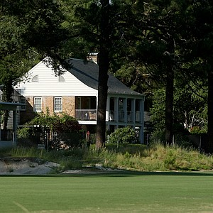 A view of the Donald Ross home on Hole No. 3, Course No. 2 at Pinehurst.
