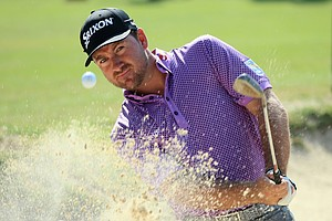 Graeme McDowell during Tuesday's practice round at the 2014 U.S. Open at Pinehurst No. 2.