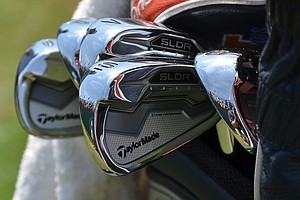 D.A. Points recently switched to these new TaylorMade SLDR irons and has them in the bag again in Pinehurst for the 2014 U.S. Open.