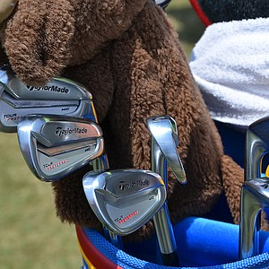 Sergio Garcia will try to win his first major this week at Pinehurst during the 2014 U.S. Open using these TaylorMade Tour Preferred MC irons.