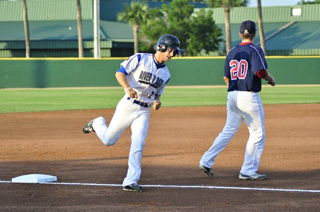 Major League Baseball draftee Tyler Palmer rocked Winter Park in the season opener.
