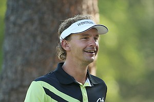 Joost Luiten during Wednesday's practice round at the 2014 U.S. Open at Pinehurst No. 2.