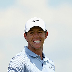 Rory McIlroy during Wednesday's practice round for the 2014 U.S. Open at Pinehurst No. 2.