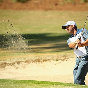 Sergio Garcia during Wednesday's practice round for the 2014 U.S. Open at Pinehurst No. 2.