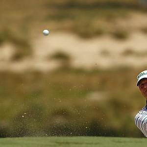Steve Stricker during Wednesday's practice round for the 2014 U.S. Open at Pinehurst No. 2.