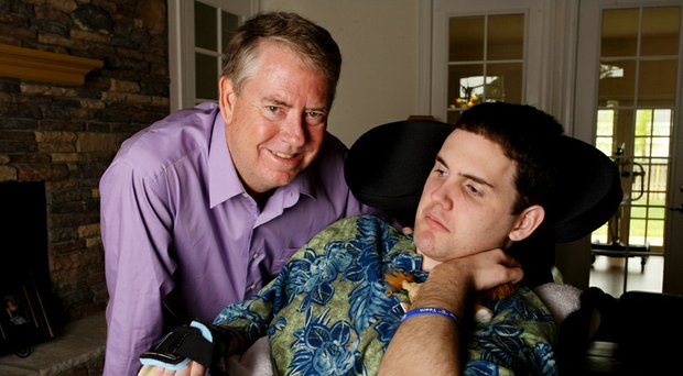 Craig Dolch, Golfweek's 2014 Father of the Year, with son Eric.