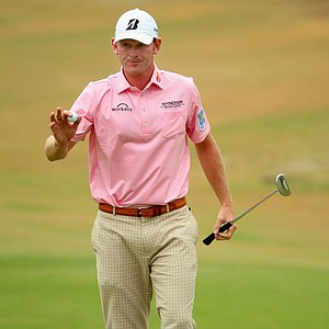 Brandt Snedeker during Thursday's first round of the 2014 U.S. Open at Pinehurst No. 2.