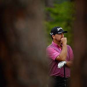 Graeme McDowell during Thursday's first round of the 2014 U.S. Open at Pinehurst No. 2.