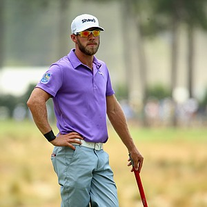 Graham DeLaet during Thursday's first round of the 2014 U.S. Open at Pinehurst No. 2.