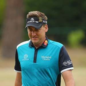 Ian Poulter during Thursday's first round of the 2014 U.S. Open at Pinehurst No. 2.