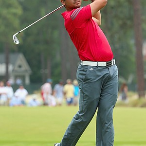 Jason Day during Thursday's first round of the 2014 U.S. Open at Pinehurst No. 2.