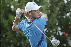 Martin Kaymer during Thursday's first round of the 2014 U.S. Open at Pinehurst.