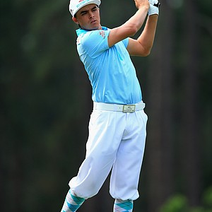 Rickie Fowler during the first round of the 2014 U.S. Open at Pinehurst No. 2.