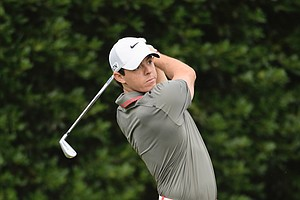 Rory McIlroy during Thursday's first round of the 2014 U.S. Open at Pinehurst No. 2.
