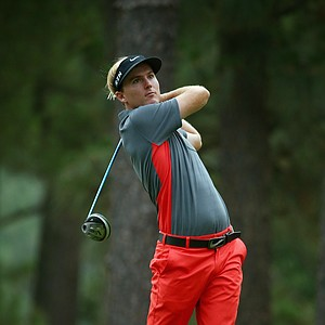 Russell Henley during Thursday's first round of the 2014 U.S. Open at Pinehurst No. 2.