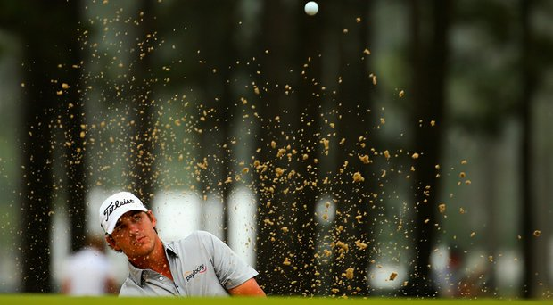 Brooks Koepka is 4-for-4 on sand saves for the week at Pinehurst No. 2.