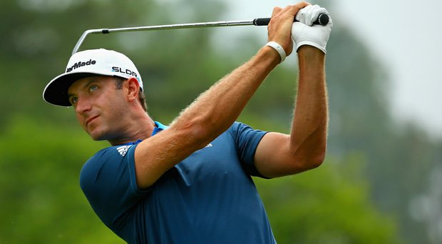 Dustin Johnson is among those that will be chasing Martin Kaymer this weekend at Pinehurst No. 2.