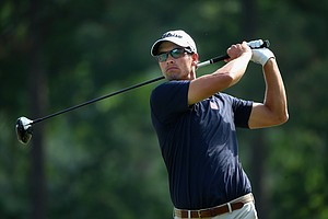 Adam Scott during Friday's second round of the 2014 U.S. Open at Pinehurst No. 2.