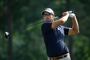 Adam Scott during Friday's second round of the 2014 U.S. Open at Pinehurst No. 2.
