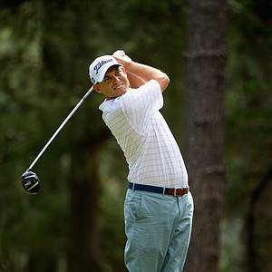 Bill Haas during Friday's second round of the 2014 U.S. Open at Pinehurst No. 2.