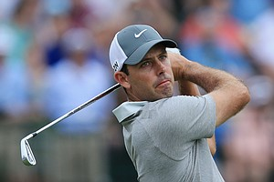 Charl Schwartzel during Friday's second round of the 2014 U.S. Open at Pinehurst No. 2.