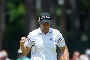 Erik Compton during Friday's second round of the 2014 U.S. Open at Pinehurst No. 2.