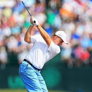 Ernie Els during Friday's second round of the 2014 U.S. Open at Pinehurst No. 2.