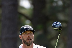 Graham DeLaet during Friday's second round of the 2014 U.S. Open at Pinehurst No. 2.