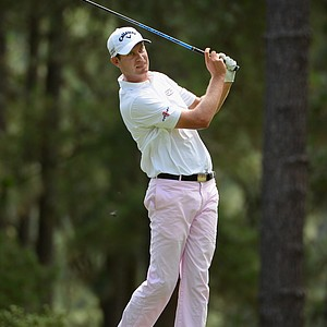 Harris English during Friday's second round of the 2014 U.S. Open at Pinehurst No. 2.