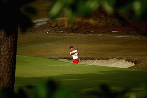Hyung Sung Kim during Friday's second round of the 2014 U.S. Open at Pinehurst No. 2.