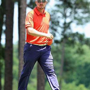Jonas Blixt during Friday's second round of the 2014 U.S. Open at Pinehurst No. 2.