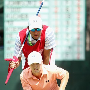 Jordan Speith during Friday's second round of the 2014 U.S. Open at Pinehurst No. 2.