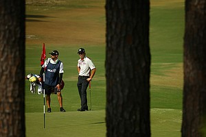 Kevin Streelman during Friday's second round of the 2014 U.S. Open at Pinehurst No. 2.