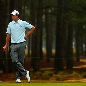 Nicolas Colsaerts during Friday's second round of the 2014 U.S. Open at Pinehurst No. 2.
