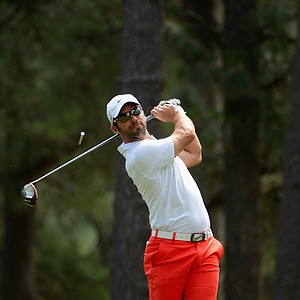 Paul Casey during Friday's second round of the 2014 U.S. Open at Pinehurst No. 2.