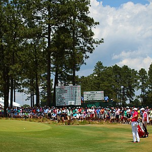 Rory McIlroy during Friday's second round of the 2014 U.S. Open at Pinehurst No. 2.