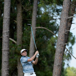 Russell Henley during Friday's second round of the 2014 U.S. Open at Pinehurst No. 2.