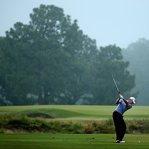 Steve Stricker during Friday's second round of the 2014 U.S. Open at Pinehurst No. 2.