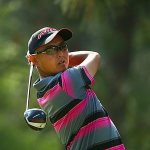 Toru Taniguchi during Friday's second round of the 2014 U.S. Open at Pinehurst No. 2.